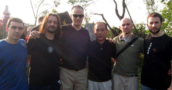 Shihanes del Dojo junto a Koboyashi Sensei.