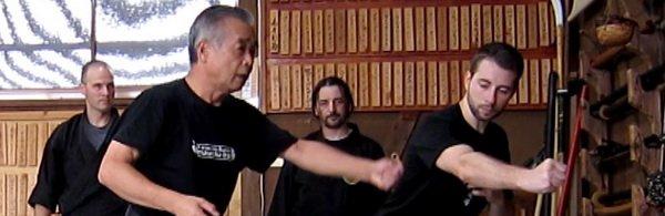 Entrenamiento con Noguchi Sensei.